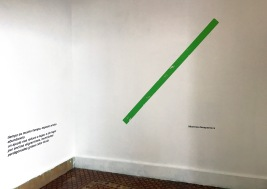 Mientras desaparezca, Installation View, 2017. Curated by Francesca Altamura, Helena Lugo and John Kenneth Paranada, at LADRÓNgalería on April 20, 2017. Courtesy of the artists, the